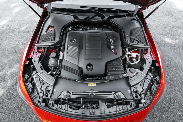 Řadový šestiválec 3,0 l verze AMG GT 53 patří k nejlepším jednotkám své objemové třídy