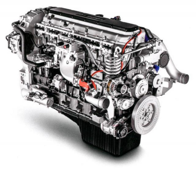 Zážehový motor Cursor 13 NP Euro VI, 338 kW (460 k), 2000 N.m