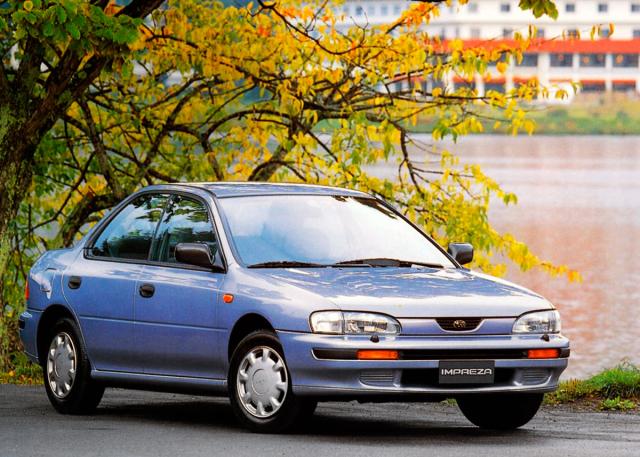 V této podobě se Subaru Impreza v roce 1992 představilo veřejnosti