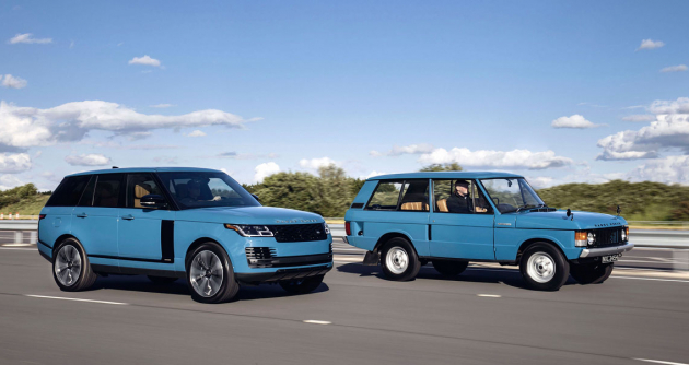 Range Rover Fifty vznikl na oslavu 50. výročí uvedení na trh