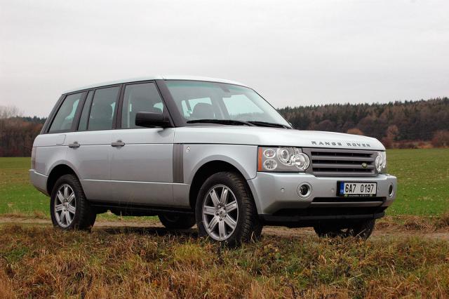 Range Rover Vogue V8 třetí generace (model 2006)