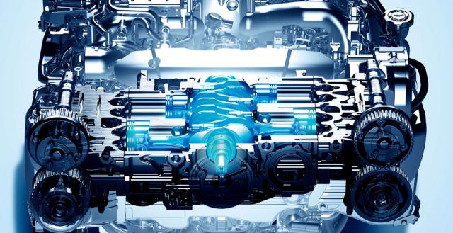 E-BOXER: Hybrid podle SUBARU