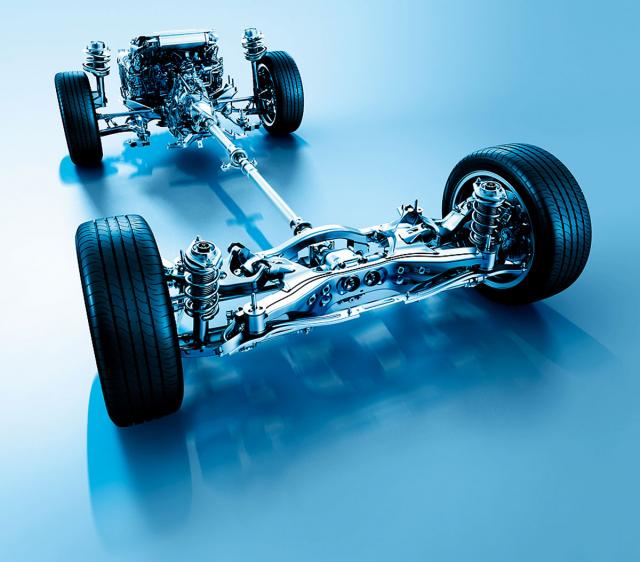 Symetrický pohon všech kol