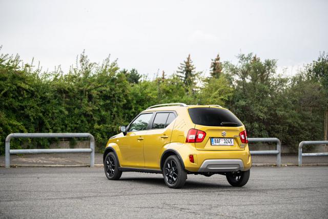 Ignis je navržen jako mini-SUV. Může být vybaven pohonem všech kol,technicky spřízněným smodelem Swift4x4