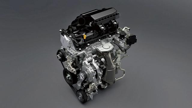 Výrazně modernizovaný motor DualJet sdvojicí vstřikovačů na každý ze čtyř válců se stále obejde bez filtru pevných částic