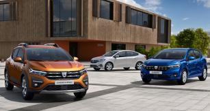 Dacia Sandero a Logan