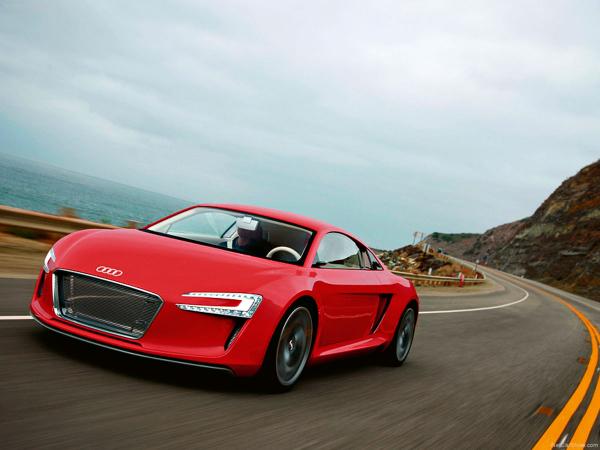 Studie Audi e-tron z roku 2009