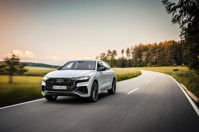V Audi Q8 je plug-in hybridní pohon k dispozici také pro stylové SUV-kupé