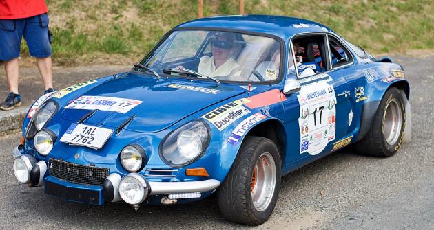 Alpine-Renault A110 (Cmíral/Cmíralová), absolutní vítěz Rallye Vltava 2020