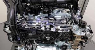 Motor CB18 je prvním z nové generace motorů Subaru. Drží se koncepce boxer, zapadající do typického technického řešení vozů Subaru