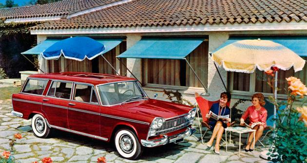Fiat 2300 Lusso Familiare, poslední provedení velké řady vozů kódového označení 114, vyráběné až do roku 1968