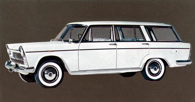 Fiat 1800B Familiare, prostorné kombi modelového roku 1964 z rakouské nabídky coby Steyr-Fiat