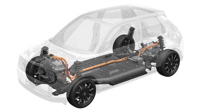 Honda e je prvním vozem postaveným na nové elektrické platformě svéznačky. Ukazuje se, že zadní pohon velektrických vozech je ideálním řešením