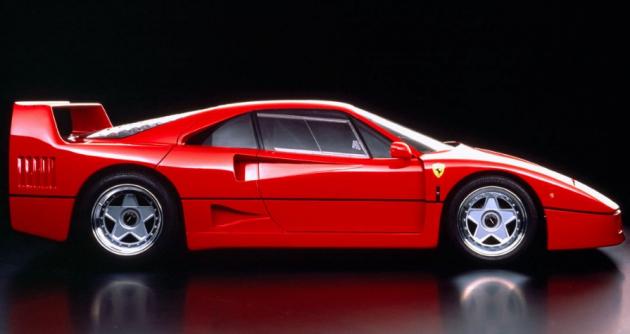 Ferrari F40 bylo posledním modelem, na němž se Brovarone pod vedením Leonarda Fioravantiho podílel ve studiu Pininfarina před odchodem do důchodu