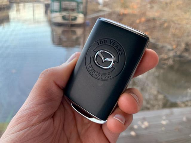 Mazda umístila logo edice dokonce i na klíček od vozu