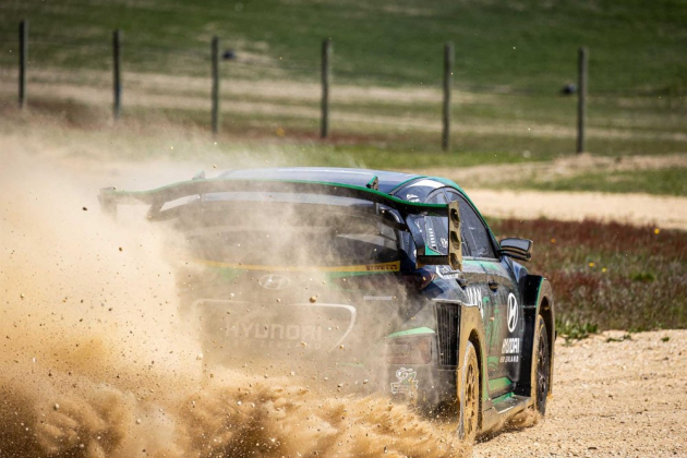 Hyundai EV Rally Car