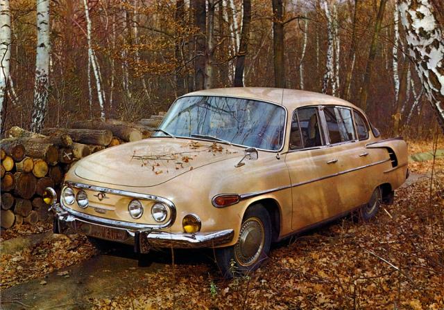 V téhle podobě se modernizovaná Tatra 2-603 vyráběla do léta 1975