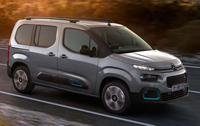 Osobní verze ë-Berlingo patří knejpraktičtějším osobním vozům selektrickým pohonem