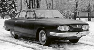 Prototyp sedanu Tatra 603A byl v roce 1962 zhotoven vjediném exempláři
