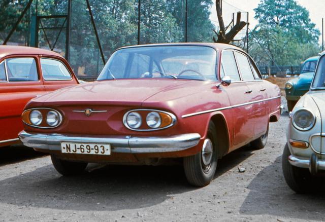 V téhle podobě jezdila Tatra 603 A v běžném provozu v sedmdesátých letech
