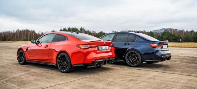 Čtyřmístné kupé BMW M4 je laděné více pro jízdu na závodních okruzích, zatímco pětimístný sedan M3 je mírně měkčí, a tím poddajnější na běžných silnicích. Užitné vlastnosti odpovídají běžným verzím řad 3 a 4