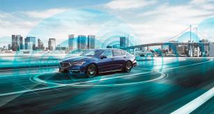 Systém Honda Sensing Elite s japonskou certifikací pro automatickou jízdu úrovně 3 v kolonách je k dispozici zatím výhradně na domácím trhu v Hondě Legend