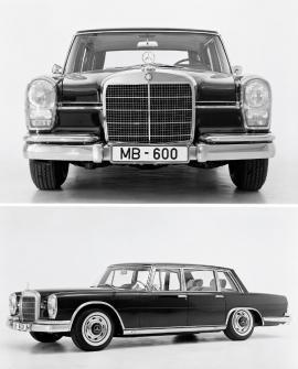 Jedním z největších přínosů pro Mercedes bylo definování tváře svelkou maskou advojicí oválných, na výšku orientovaných světlometů