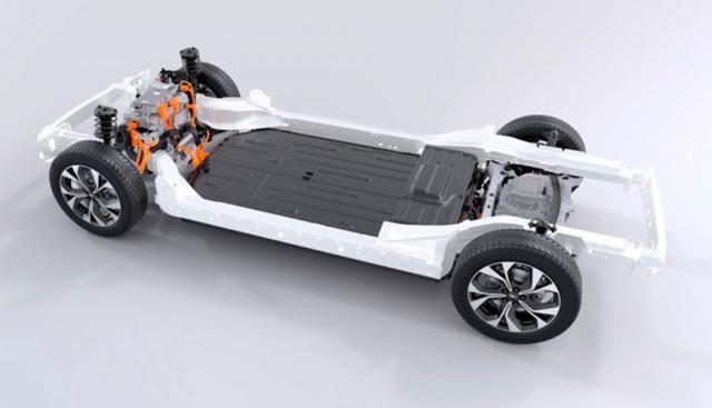 Zcela nová platforma byla vyvinuta výhradně pro tento vůz