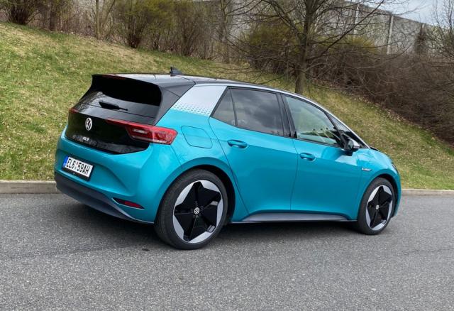Tvary a jednotlivé detaily Volkswagenu ID.3 jsou viditelně podřízené aerodynamice