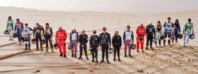 Startovní listina je plná zajímavých jmen z nejrůznějších disciplín motorsportu. Nechybí v ní devítinásobný mistr světa v rallye Sébastien Loeb, dvojnásobný šampion DTM Mattias Ekström, mistr světa F1 Jenson Button ani mistři světa v rallyekrossu Timmy Hansen a Johan Kristoffersson