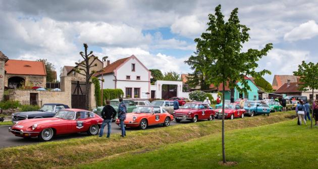 Centrem letošní setinové soutěže 7Castles Trial byla obec Slatina na Litoměřicku