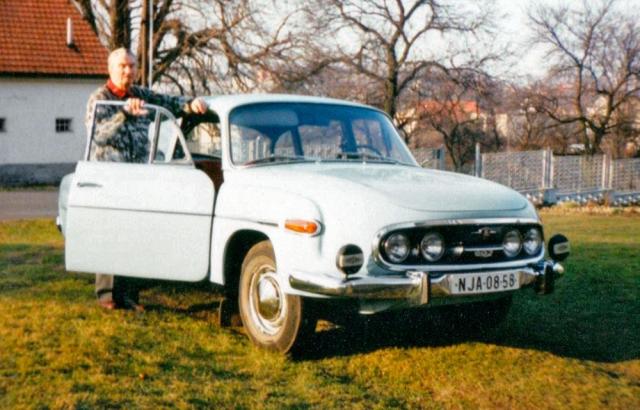 Chloubou Jaroslava Pavelky byla jeho Tatra T 603. Rád usedal za volant, vyžíval se v pomalé jízdě a pohledu do krajiny
