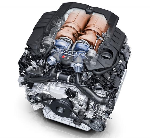 Osmiválec EA825 vyvinuli u Porsche, kde se také vyrábí