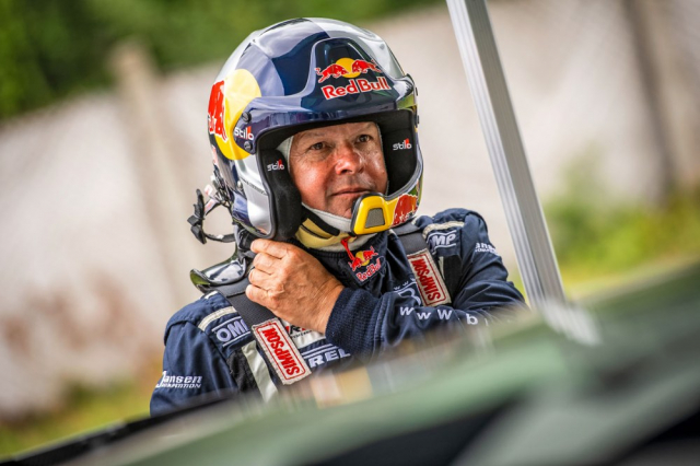 Rakušan Raimund Baumschlager a jeho tým nesou na svých bedrech veškeré testování anyní i závodní nasazení v rakouském šampionátu