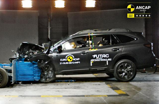 Subaru Outback po celém světě sbírá nejlepší hodnocení v nárazových testech, ostatně jako všechna ostatní Subaru