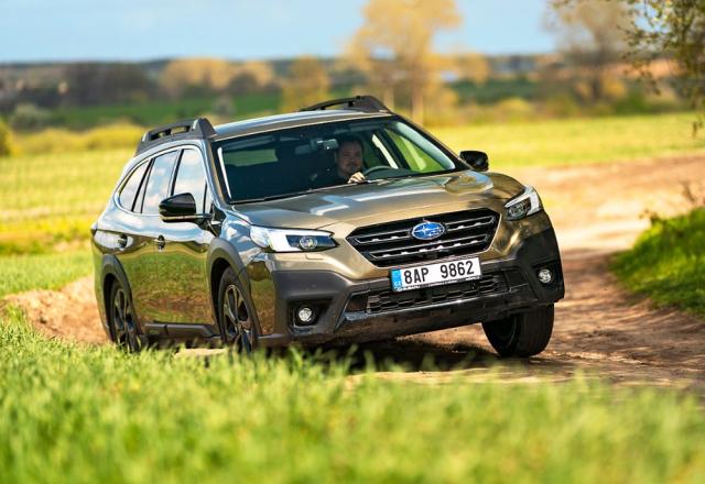 Subaru Outback – Nová generace Outbacku zaujme mimořádným komfortem akvalitou použitých materiálů. Kdispozici je ijemná kůže Nappa