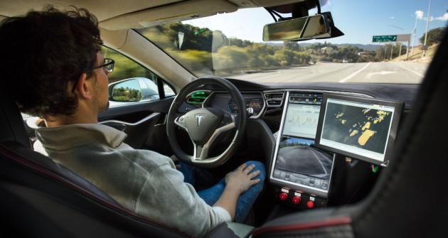 Autonomní vozidla