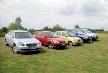 Vznětové verze automobilů Kia – zleva Magentis, Rio, Picanto, Sportage aSorento