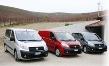 Tři verze Scuda: PANORAMA (osobní vozidlo), FURGON (skříňová dodávka), pětimístné COMBI s bočním prosklením